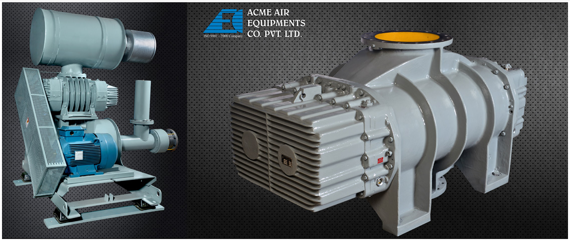 Tri Lobe Roots Blower (Rotary Compressors) / Exhausters - Acme Air