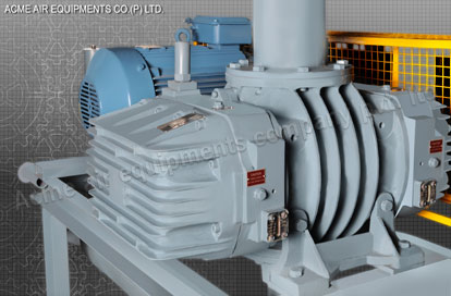 Twin Lobe Roots Blower, Positive Displacement Blowers - Acme Air