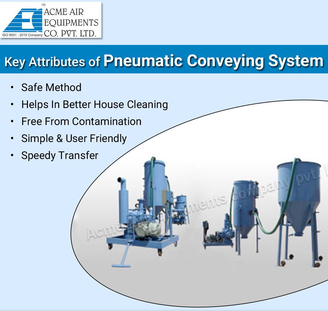 Key Attributes of Pneumatic Conveying System