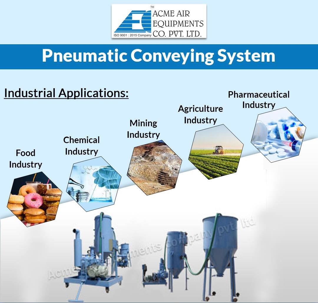 Pneumatic conveying systems have a wide number of industrial applications